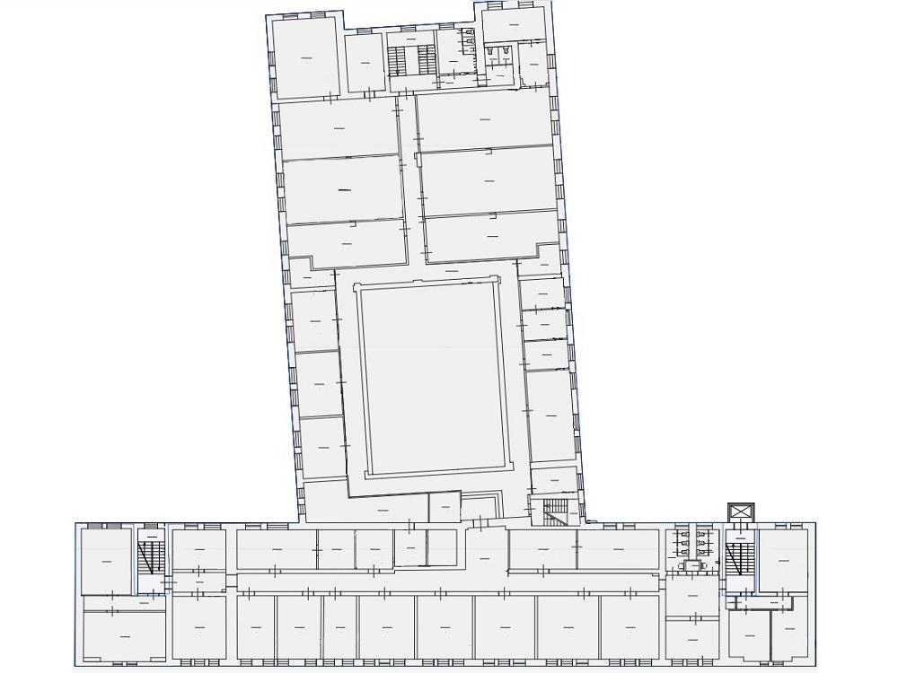 Третий этаж Бизнес-Центра ЛюмьерХаус